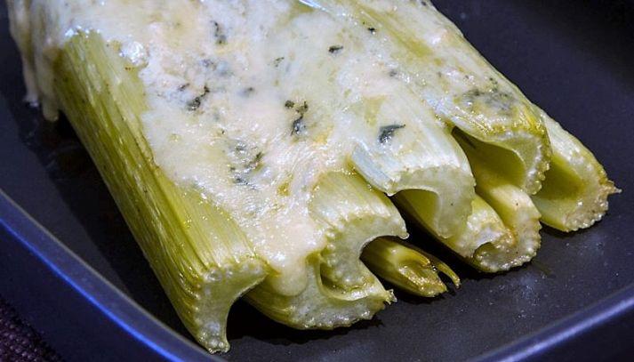 Coste al gorgonzola