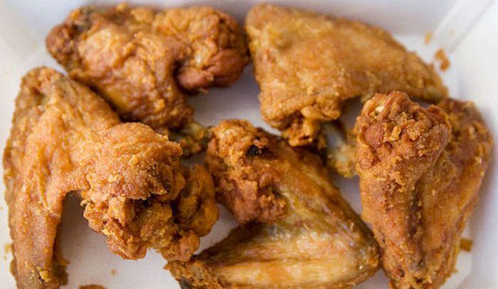 Fiocchi di pollo dorati