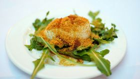 Mozzarella in carrozza con bottarga