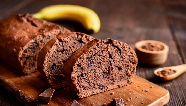 Pane di banana al cioccolato