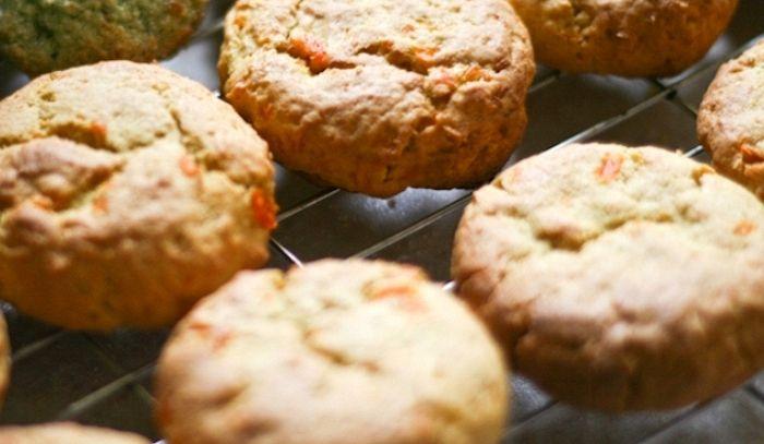 Biscotti di carote e arancia