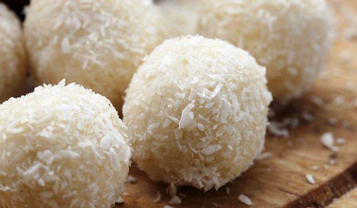 Bocconcini di noce di cocco