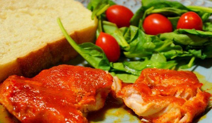 Braciole di maiale in salsa