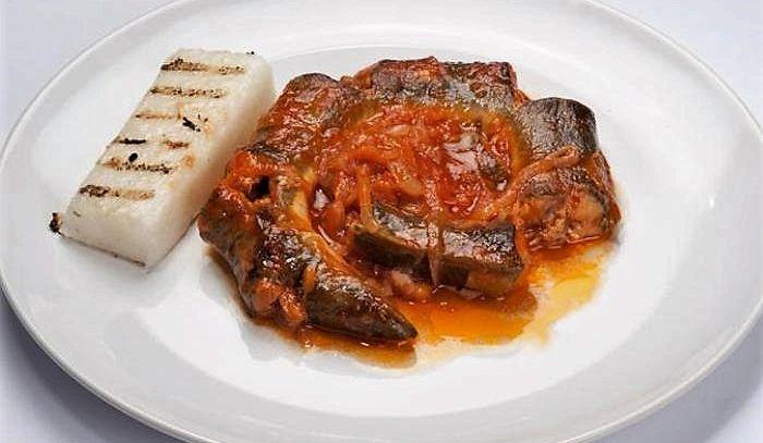 Brodetto di anguille delle valli di Comacchio