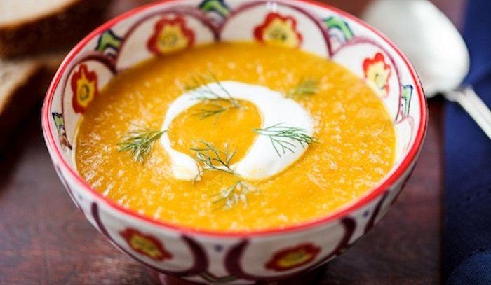 Crema di finocchi al curry