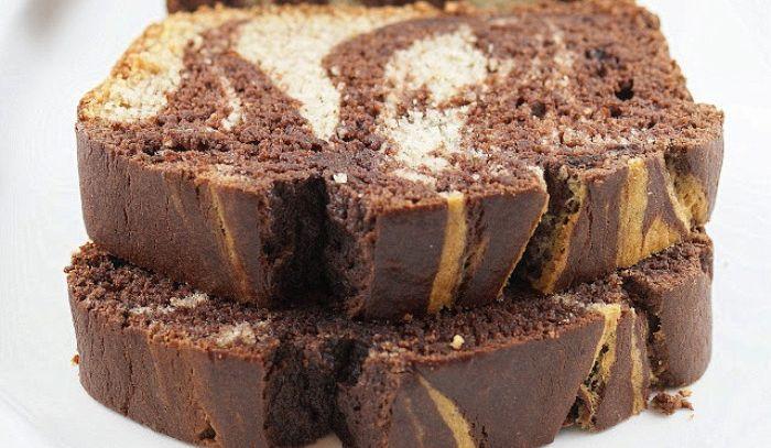 Pane di marmo al cioccolato