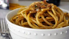 Pasta con le sarde rosse