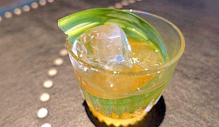 Punch giapponese al tè verde