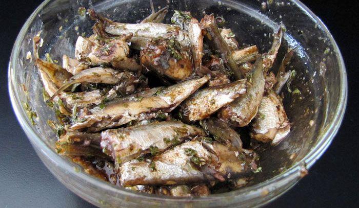 Sardine all'aceto