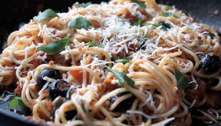Spaghetti alla ciociara