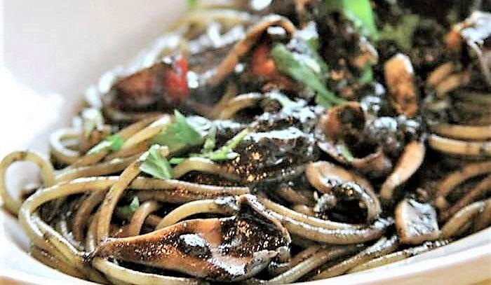 Spaghetti con le seppioline