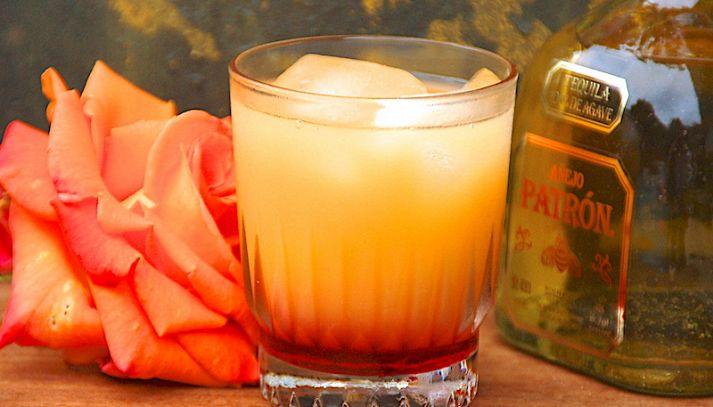 Tequila Sunrise long drink