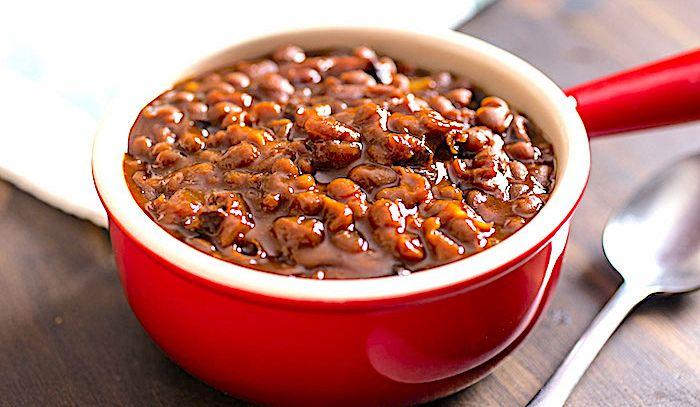 Boston Baked Beans in Bean Pot
