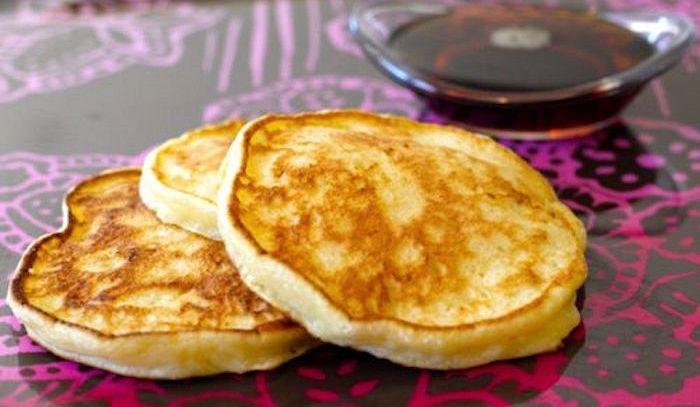 Pancakes al formaggio