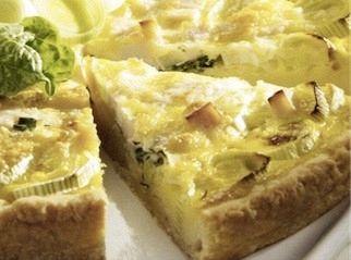 Tortino di asparagi e spinaci