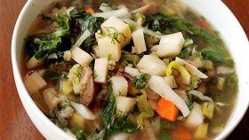Zuppa bolognese di verdure