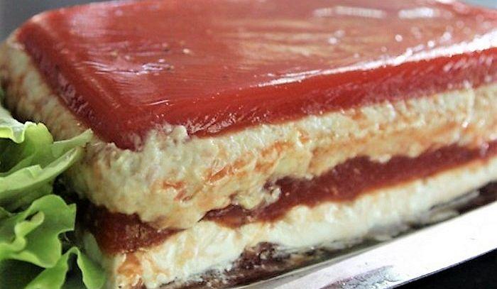 Antipasto di pesce in gelatina