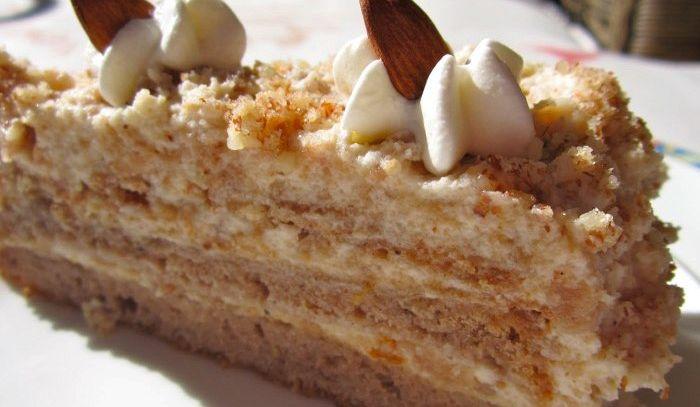 Castagne in torta