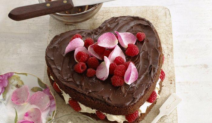 Ricetta Torta Al Cioccolato A Forma Di Cuore.Ricetta Cuore Di Cioccolato Le Ricette Di Buonissimo