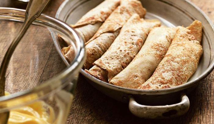 Frittelle di castagne con crema