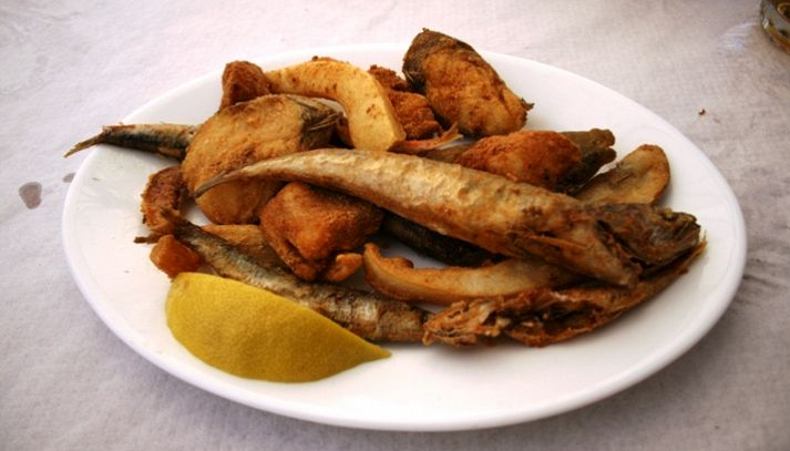 Fritto misto di pesce