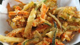 Frittura mista con verdure