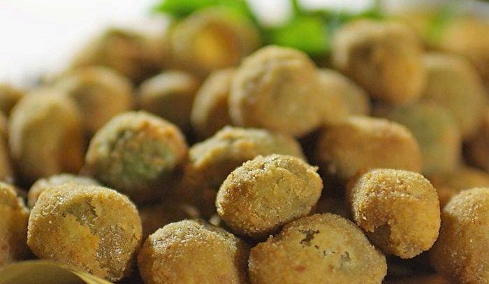 Olive farcite in pastella