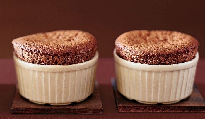 Piccoli soufflè al cioccolato