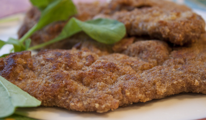 Scaloppine di vitello alla capricciosa