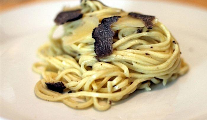 Spaghetti al tartufo di Norcia