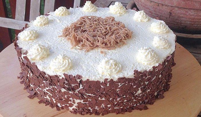 Torta Biedermeier