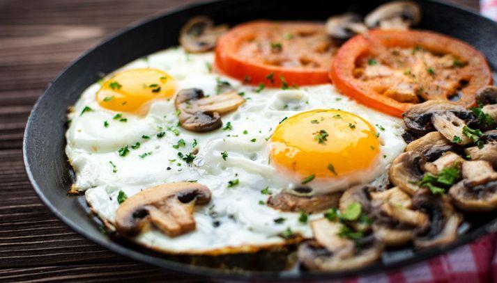 Uova ai funghi