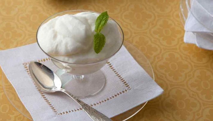 Mousse alla grappa