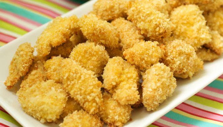 Polpettine di pollo dorate
