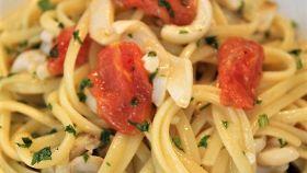Spaghetti con cannolicchi