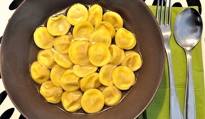 Anolini alla parmigiana