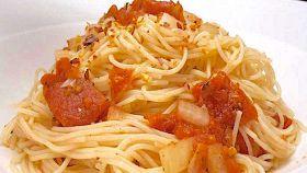Capellini al pomodoro piccante