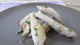 Filetti di stoccafisso marinati