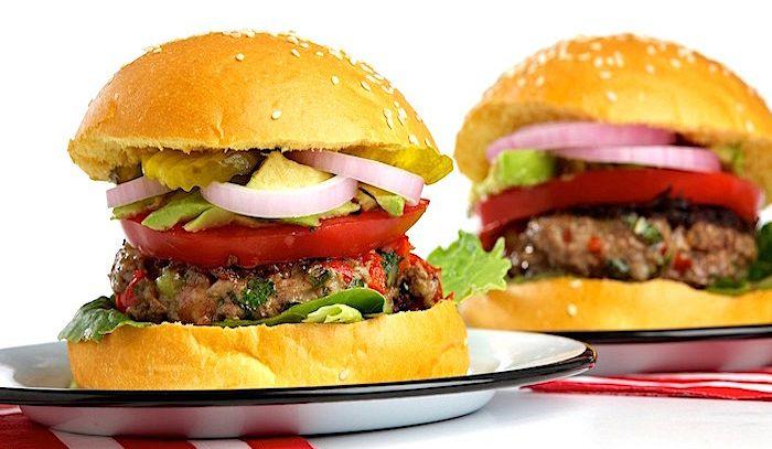 Hamburger ai peperoni
