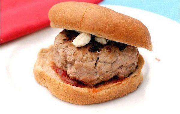 Hamburger di tacchino al peperone