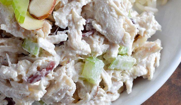 Insalata di pollo con tartufo