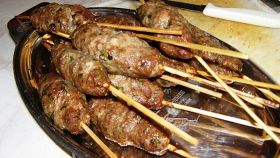 Kebab di manzo alla greca