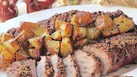 Lonza di maiale con patate
