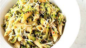 Mezze penne alle zucchine, tanto aroma e sapore nel piatto
