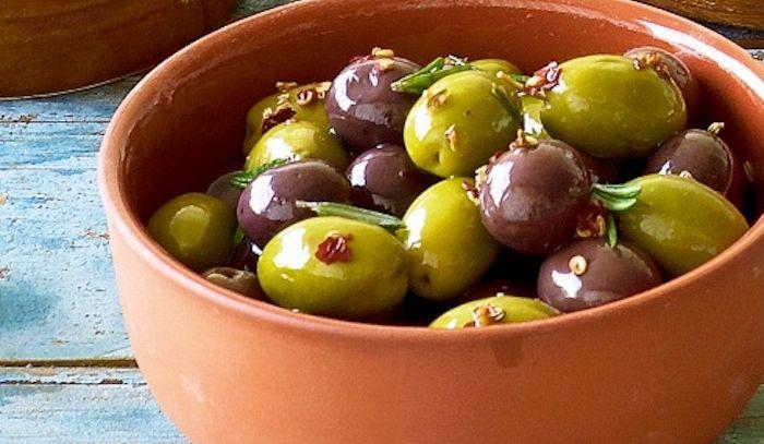 Olive marinate alle spezie