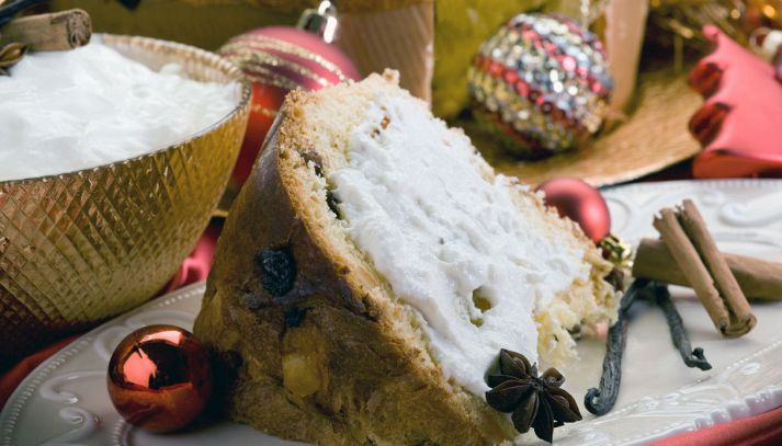 Panettone alla crema chantilly