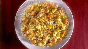Riso pilaf all'indiana