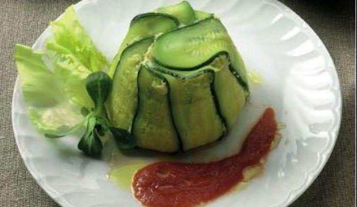Sformatini di zucchine e asparagi
