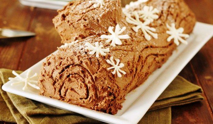 Torta Tronchetto Di Natale.Tronchetto Di Natale Al Caffe