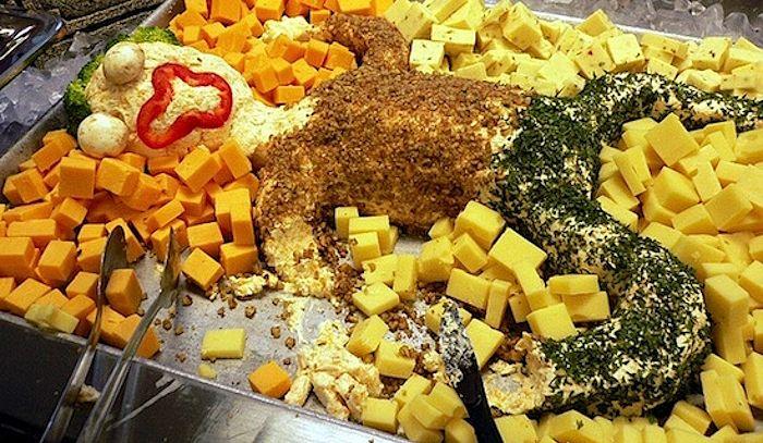 Uomo di formaggio